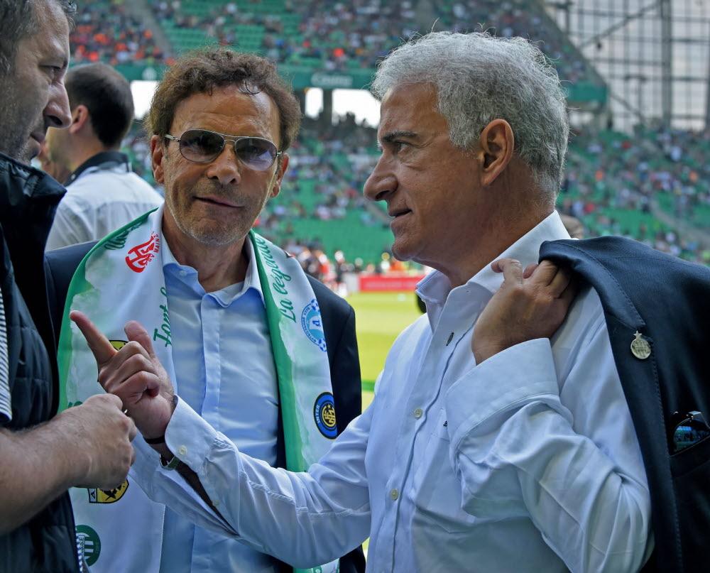 ASSE : Roland Romeyer et Bernard Caïazzo en désaccord sur la vente ! 1