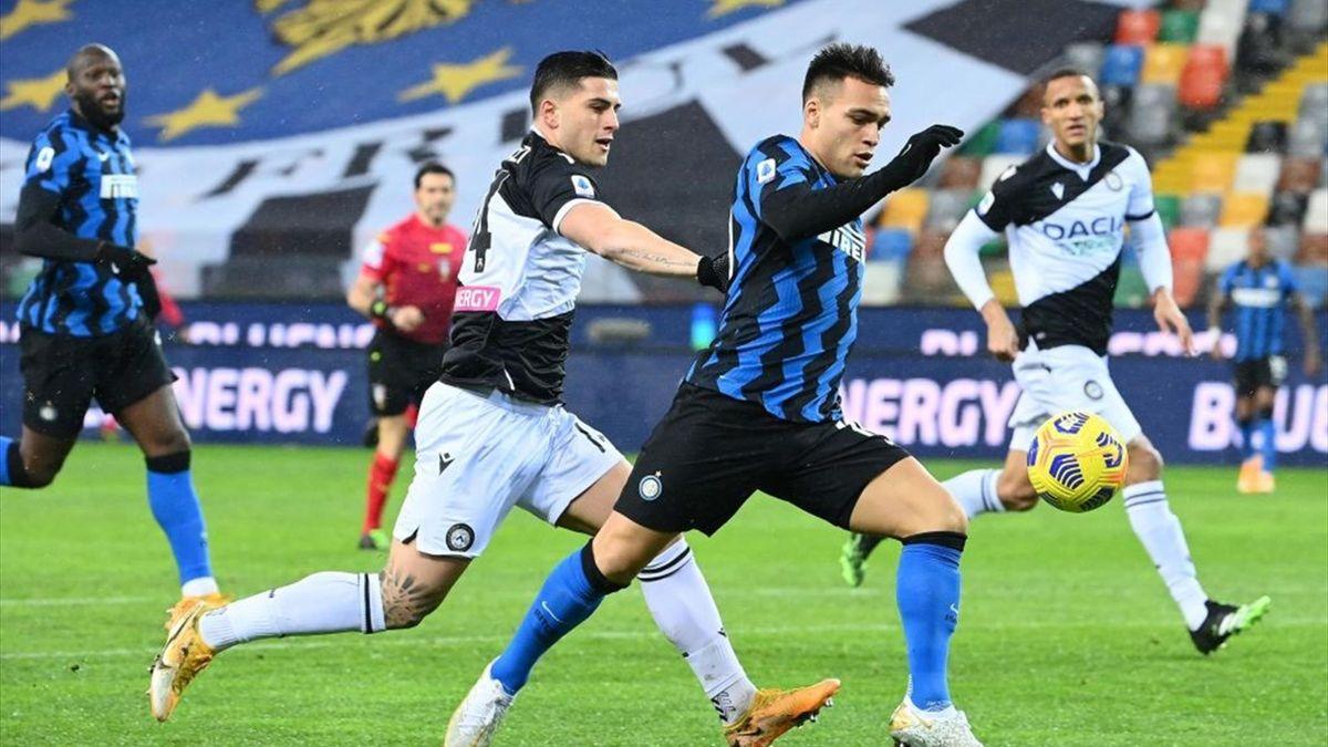 Serie A - 19ème j. | Les notes d'Udinese - Inter (0-0) 1