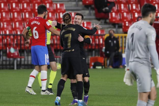 Photo of Liga – 18ème j. | Les notes de Grenade CF – FC Barcelone (0-4)