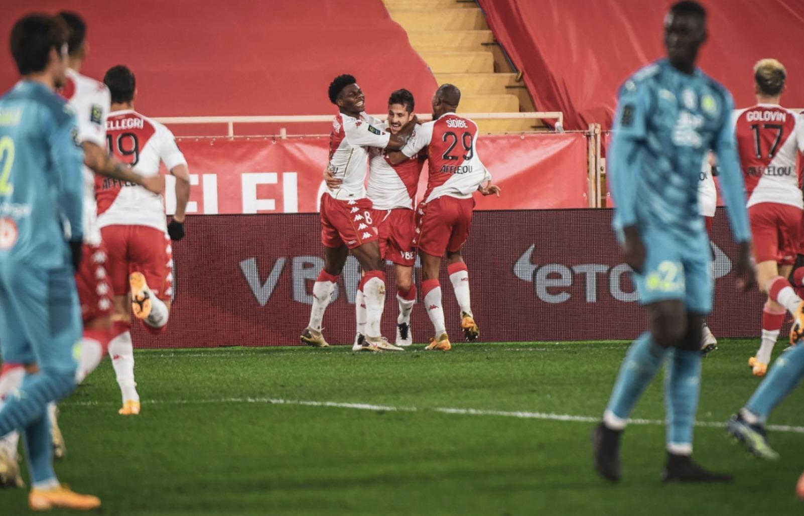 Ligue 1 – 21ème j.   Les notes de Monaco - OM (3-1) 1