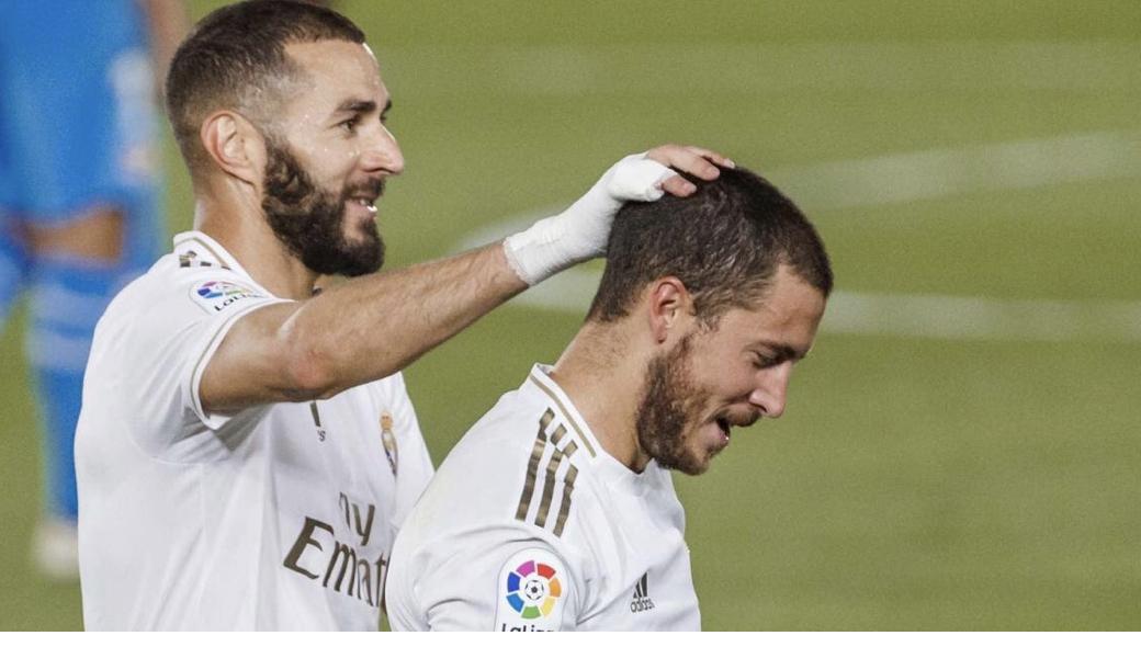 Real Madrid : Zidane donne des nouvelles de Hazard et Benzema ! 1