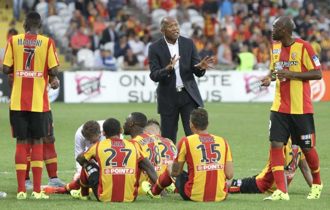 RC Lens : Kombouaré à Nantes avec des membres de son staff chez les Sang et Or 1