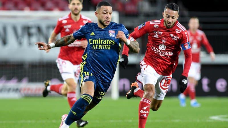 Ligue 1 - 26ème j. | Les notes de Brest - OL (2-3) 1
