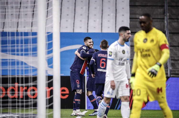 Ligue 1 - 24ème j. | Les notes de OM - PSG (0-2) 1