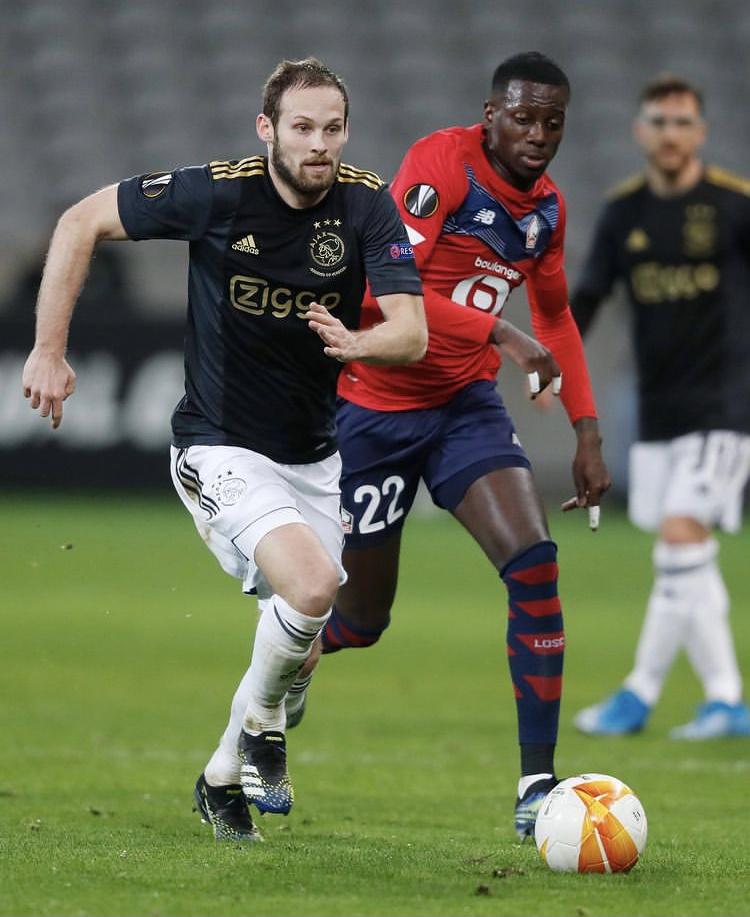Ligue Europa - 1/16 aller | Les notes de LOSC - Ajax (1-2) 1