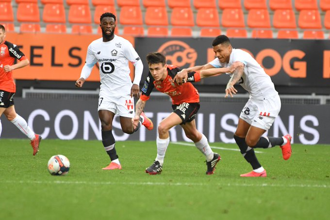 Ligue 1 - 26ème j. | Les notes de Lorient - Lille (1-4) 1