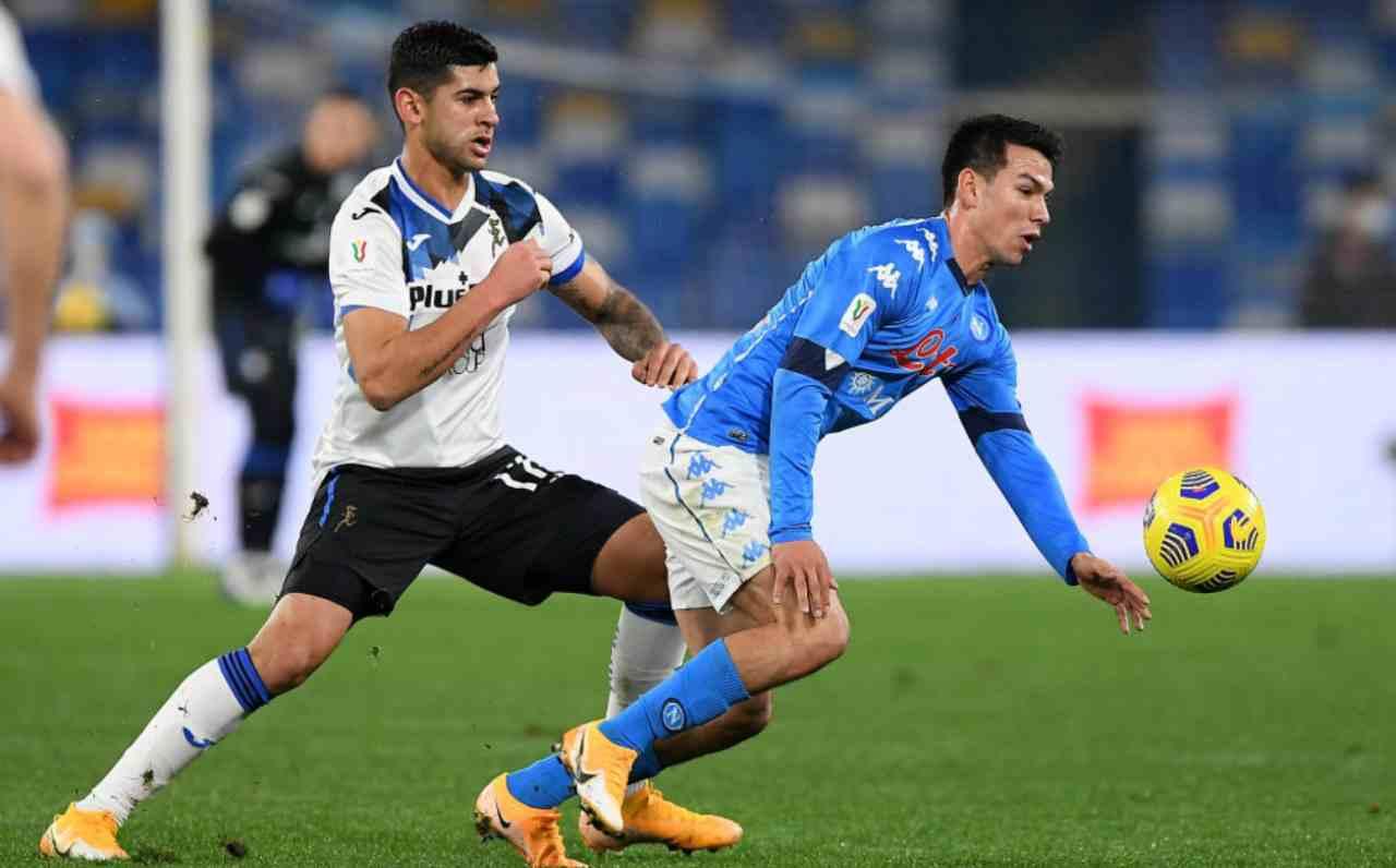 Napoli Atalanta 0-0 toloi