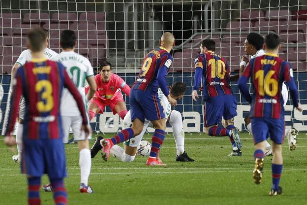 Liga – 1ère j. (en retard) | Les notes de FC Barcelone – Elche (3-0) 1