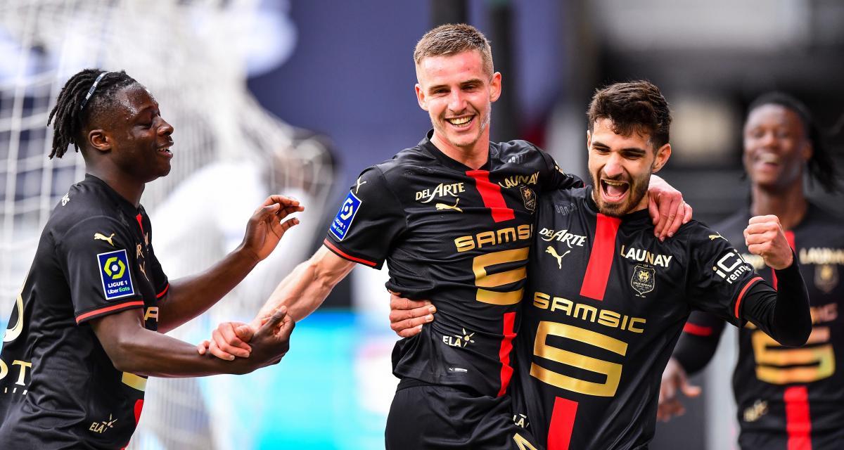 Ligue 1 - 29ème j. | Les notes de Stade Rennais - RC Strasbourg (1-0) 1