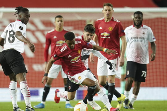 Ligue Europa - 1/8 aller | Les notes de Manchester United - Milan AC (1-1) 19