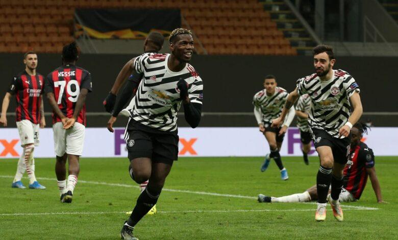 Ligue Europa - 1/8 retour | Les notes de Milan AC - Manchester United (0-1) 13