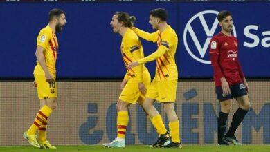 Photo of Liga – 26ème j.   Les notes de Osasuna – FC Barcelone (0-2)