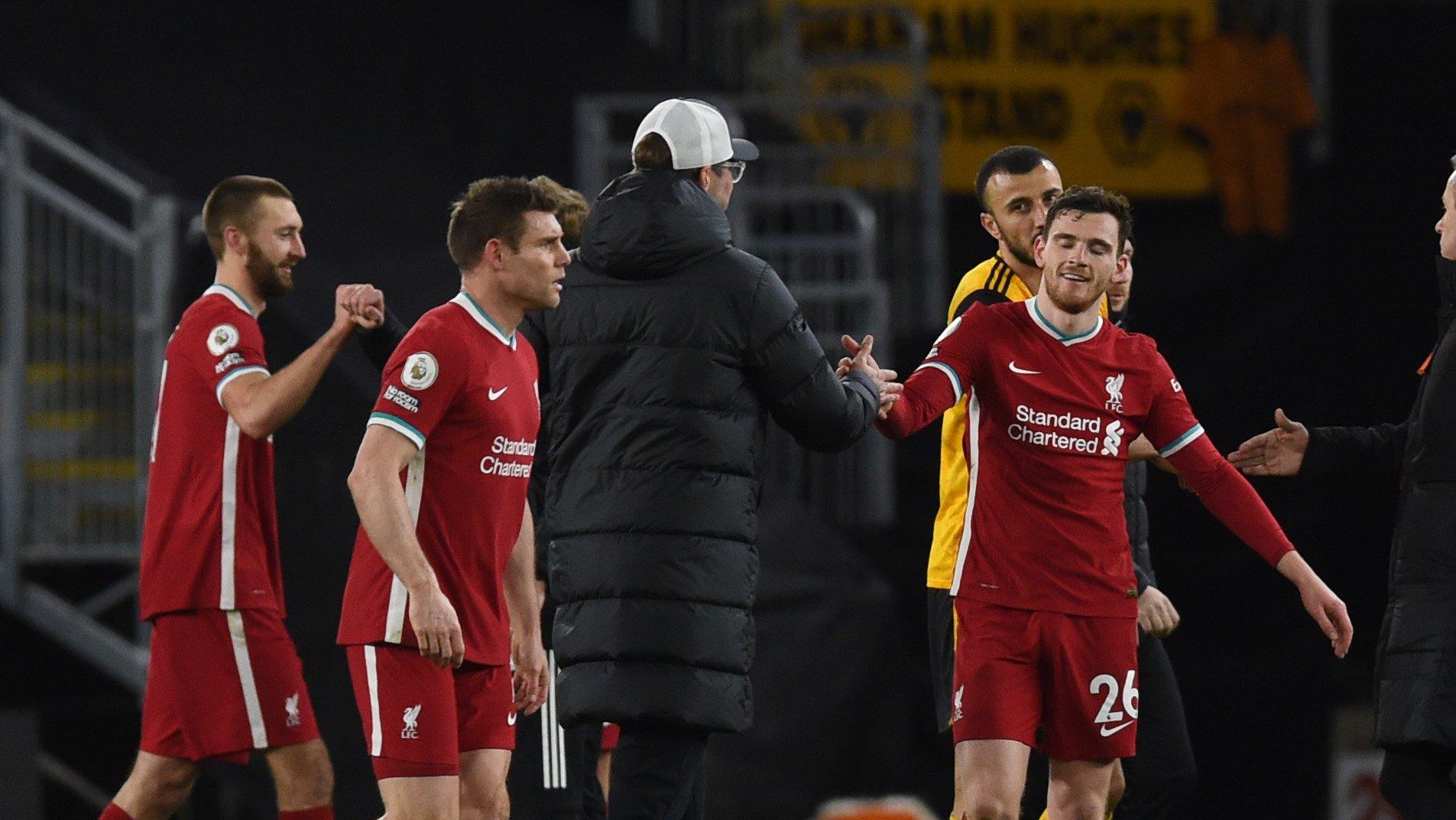 Premier League - 28ème j. | Les notes de Wolverhampton - Liverpool (0-1) 1