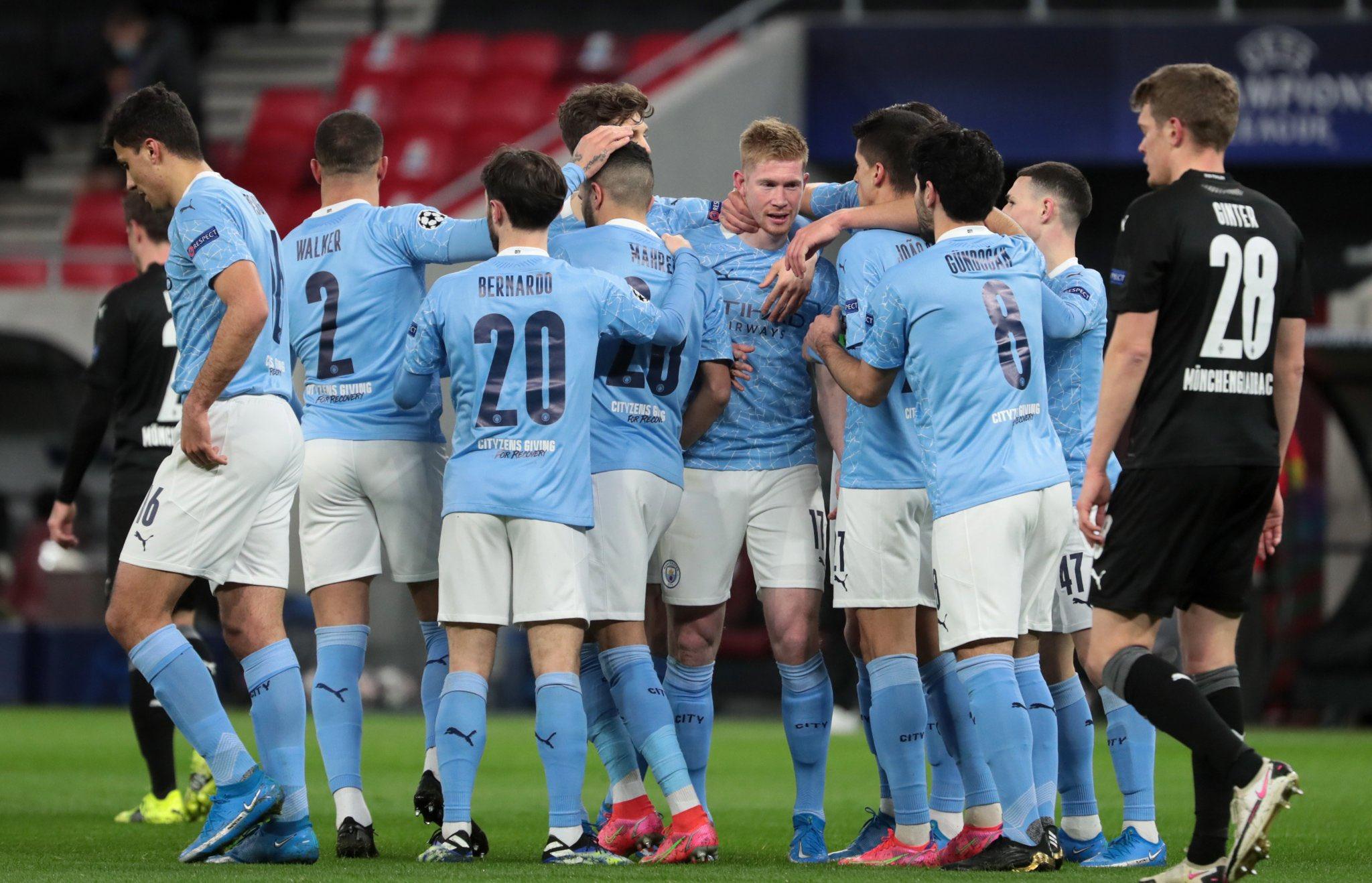 Ligue des Champions – 1/8 retour | Les notes de Manchester City – Borussia Mönchengladbach (2-0) 1