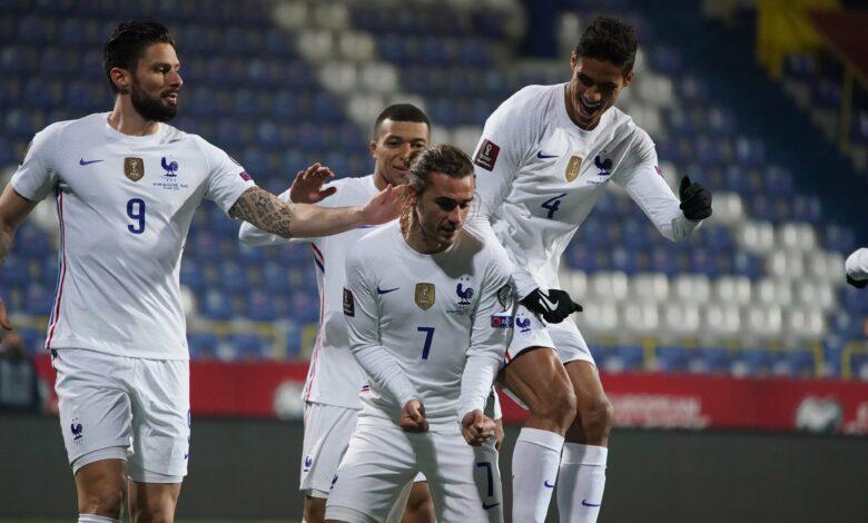 Mondial 2022 - Qualifications | Les notes de Bosnie-Herzégovine - France (0-1) 1