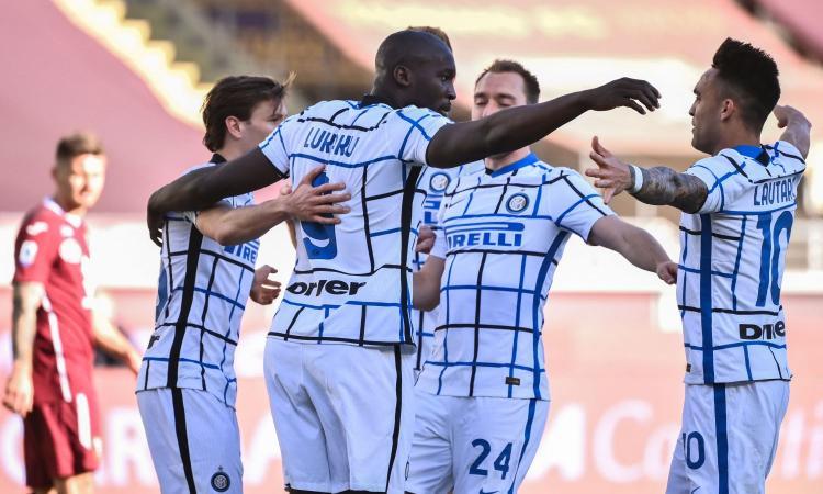 Torino Inter 1-2 Lautaro Lukaku Sanabria Serie A