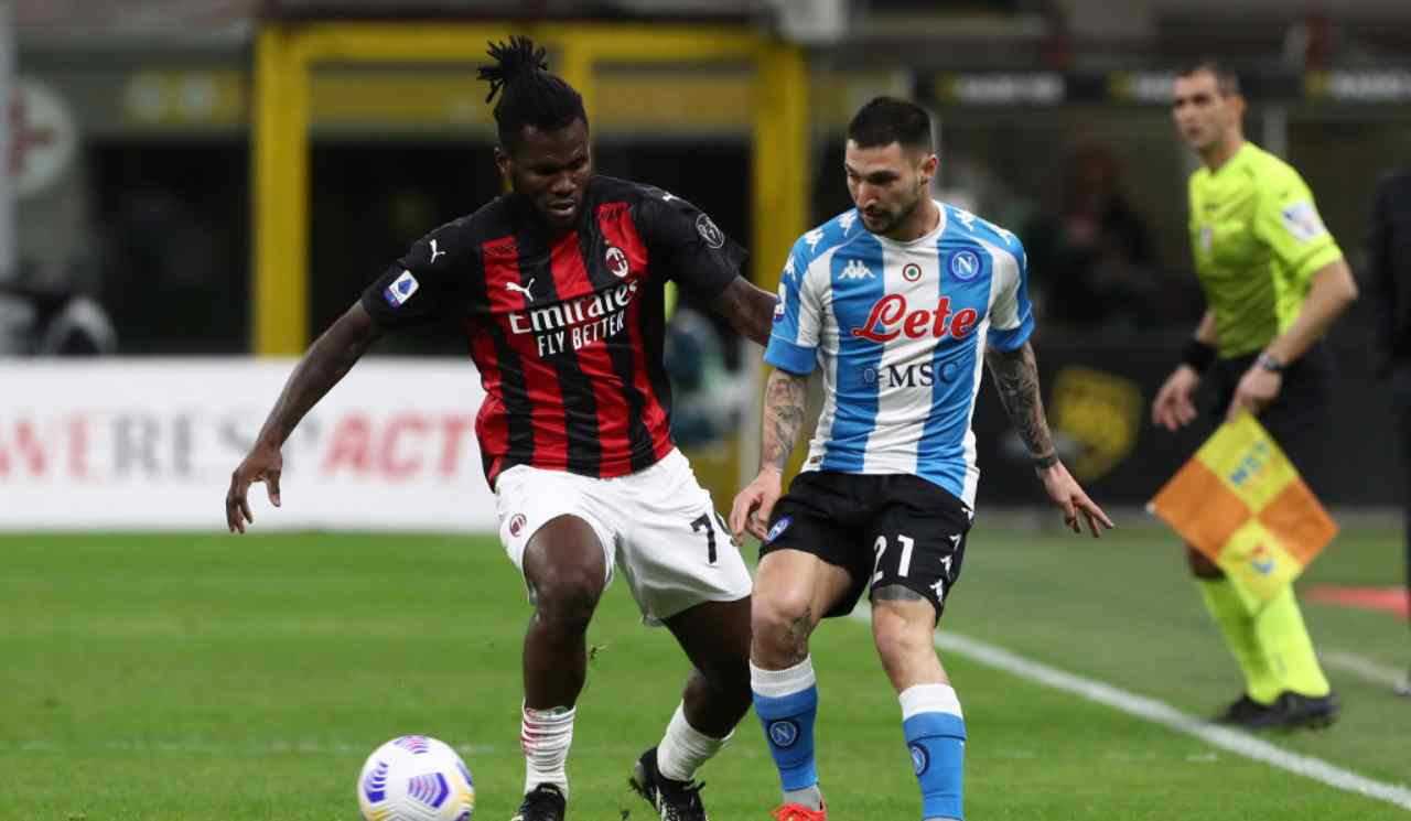 Serie A - 27ème j. | Les notes de Milan AC - Napoli (0-1) 1