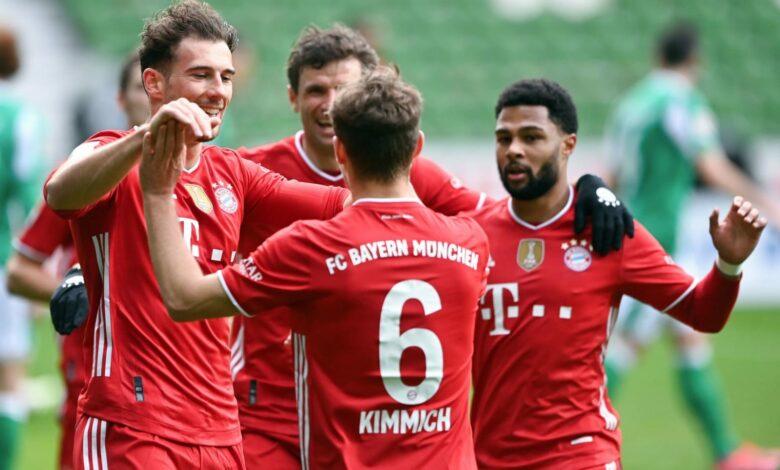 Bundesliga - 25ème j. | Les notes de Werder Brême - Bayern Munich (1-3) 9