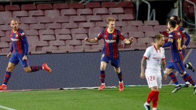 Photo of Coupe du Roi – 1/2 retour   Les notes de FC Barcelone – Séville FC (3-0 a.p)