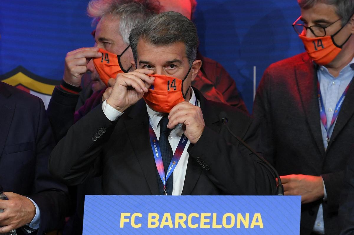 FC Barcelone : Joan Laporta veut se débarrasser d'une star catalane ! 1
