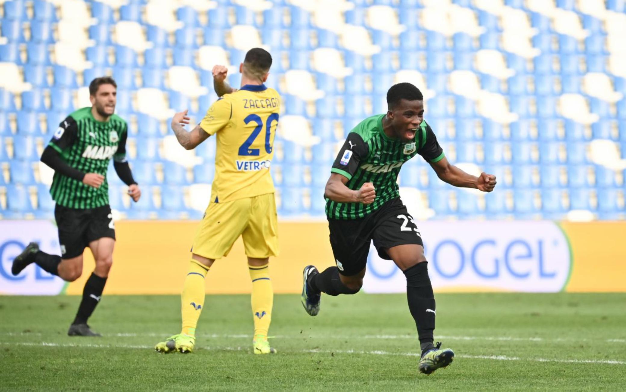 Serie A - 27ème j. | Les notes de Sassuolo - Hellas Vérone (3-2) 1