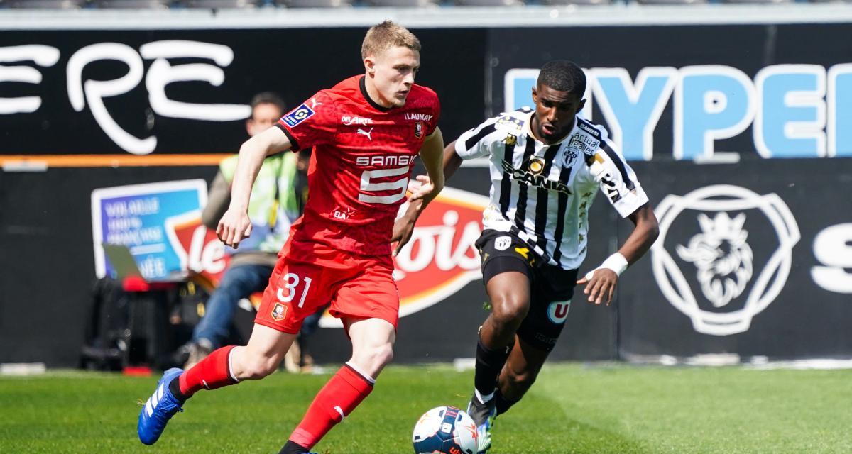 Ligue 1 - 33ème j. | Les notes de Angers SCO - Stade Rennais (0-3) 1