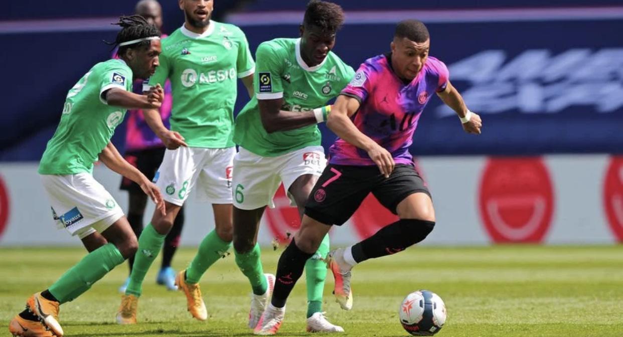 ASSE : Kylian Mbappé a chambré ce Stéphanois ! 1