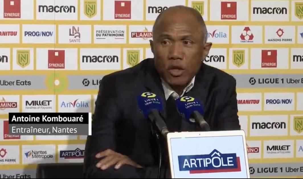 FC Nantes : L'important discours de Kombouaré aux joueurs après la défaite contre l'OL ! 1