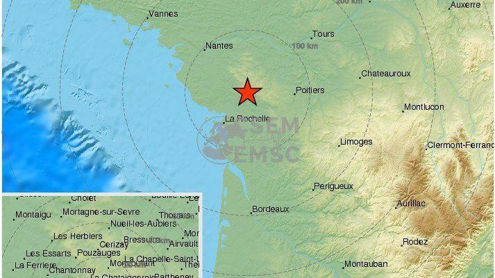 Tremblement de terre en Vendée : un séisme ressenti jusqu'en Loire-Atlantique 1