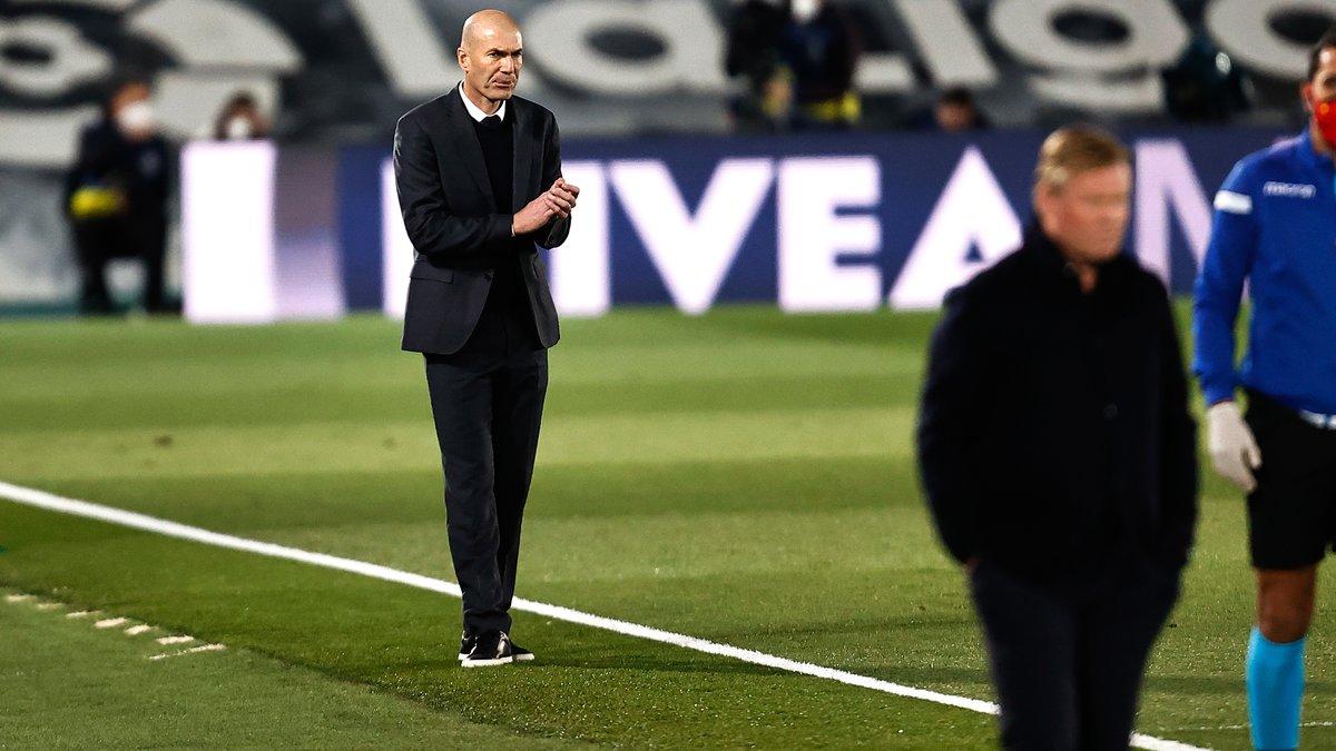 Real Madrid : La réponse ferme de Zidane à Koeman après le Clasico ! 1