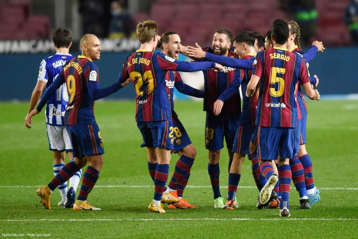 FC Barcelone : La réaction du vestiaire catalan à la création de la Super ligue ! 1
