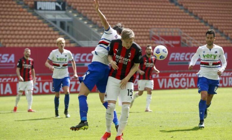 Serie A - 29ème j. | Les notes de Milan AC - Sampdoria (1-1) 11