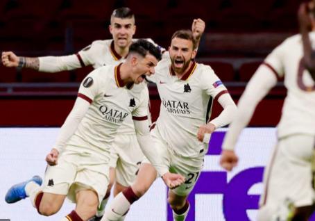 Ligue Europa - 1/4 Aller | Les notes de Ajax - AS Roma (1-2) 1