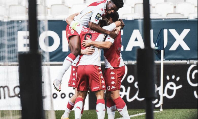 Ligue 1 – 33ème j. | Les notes de Bordeaux – Monaco (0-3) 3