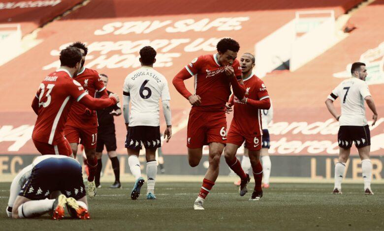 Premier League - 31ème j.   Les notes de Liverpool - Aston Villa (2-1) 13