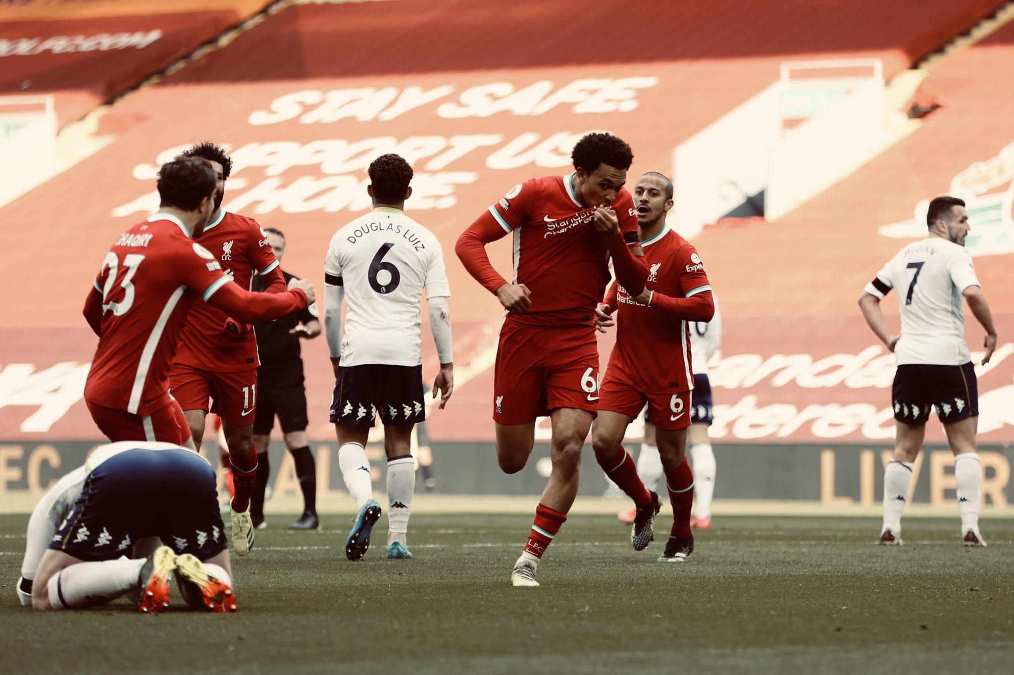 Premier League - 31ème j.   Les notes de Liverpool - Aston Villa (2-1) 1