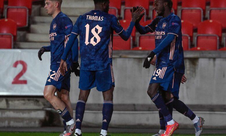 Ligue Europa - 1/4 retour | Les notes de Slavia Prague - Arsenal (0-4) 3