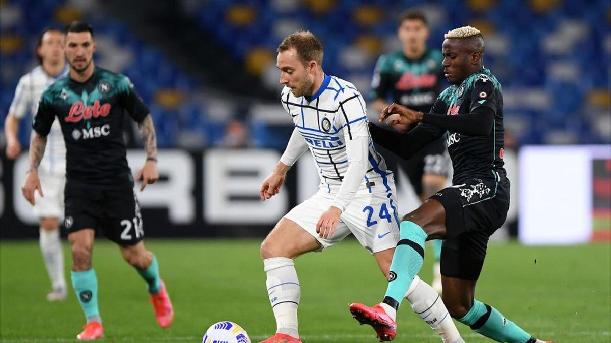 Serie A - 31ème j.   Les notes de Naples - Inter Milan (1-1) 1