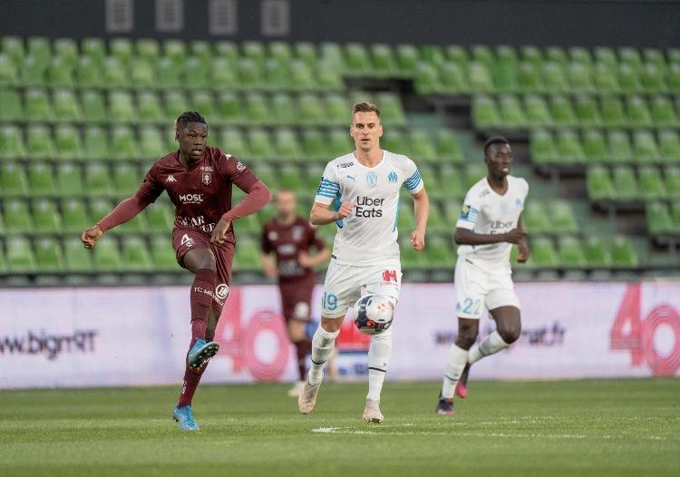 Ligue 1 - 38ème j.   Les notes de Metz - OM (1-1) 1