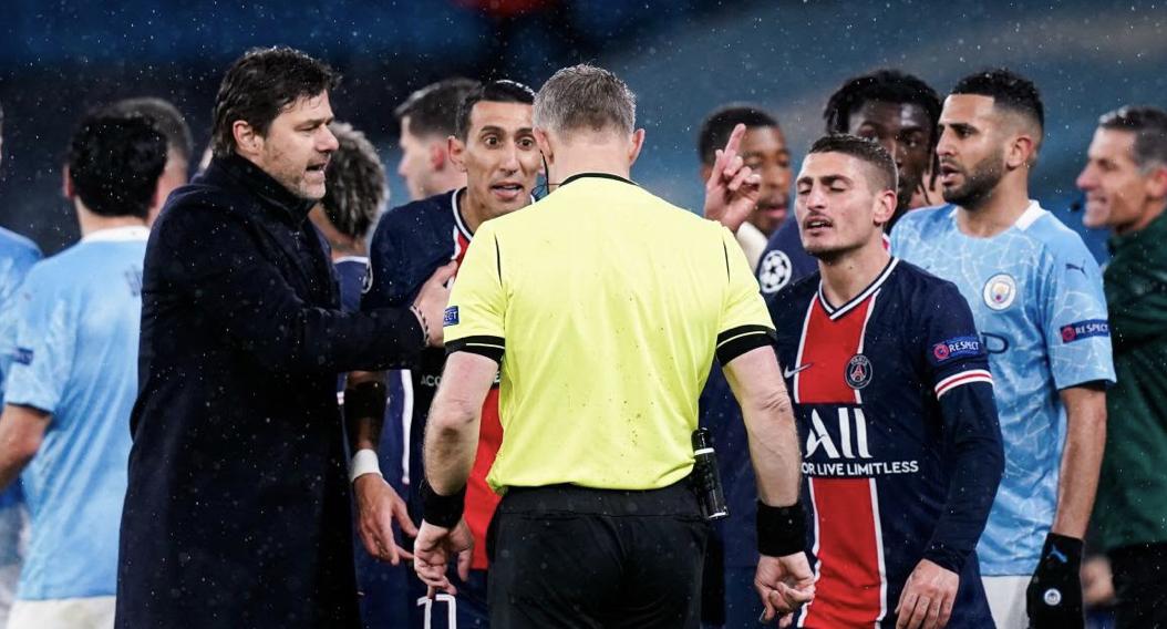 PSG, Manchester City : RMC révèle les échanges houleux entre Verratti et l'arbitre ! 1