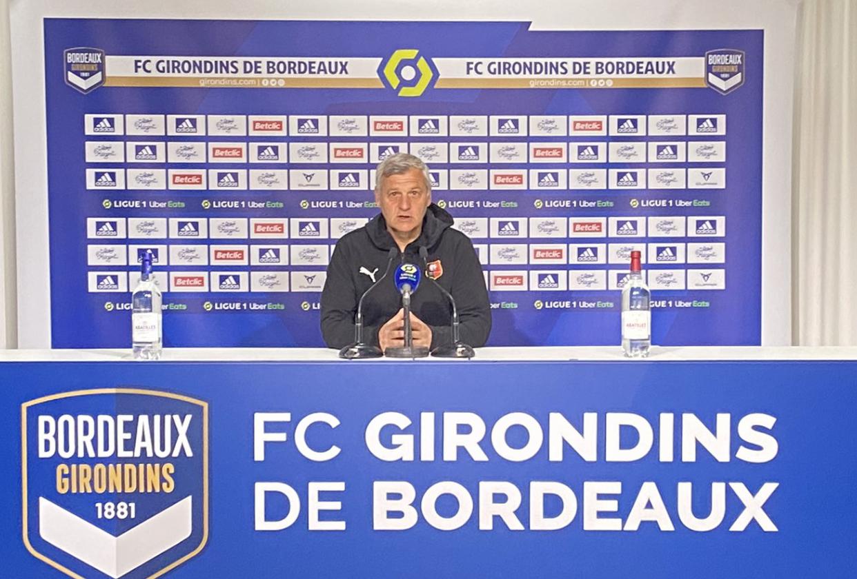 Stade Rennais : Bruno Génésio nourrit des regrets après une mauvaise opération à Bordeaux ! 1