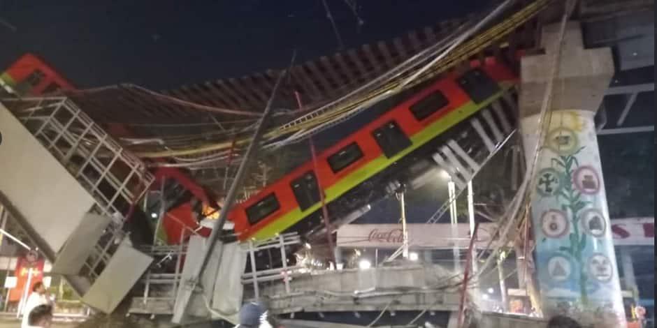 Mexique - Accident de métro : Plus de 20 morts après l'effondrement d'un pont 1
