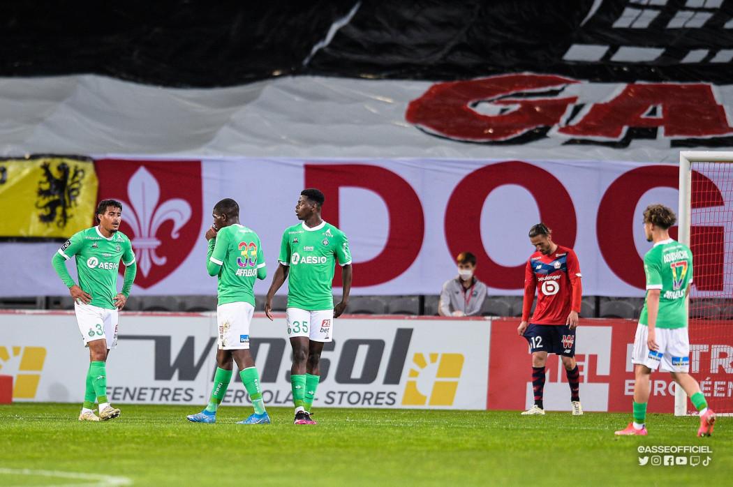 ASSE : Blessé contre LOSC, ce Vert ne jouera plus cette saison ! 1