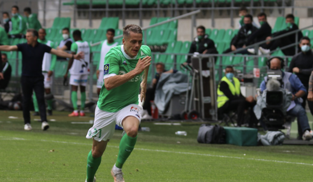 ASSE : Dossier Hamouma, un club de la Ligue 1 prend la température du cadre stéphanois ! 1