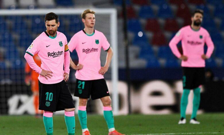 Liga – 36ème j.   Les notes de Levante – FC Barcelone (3-3) 15