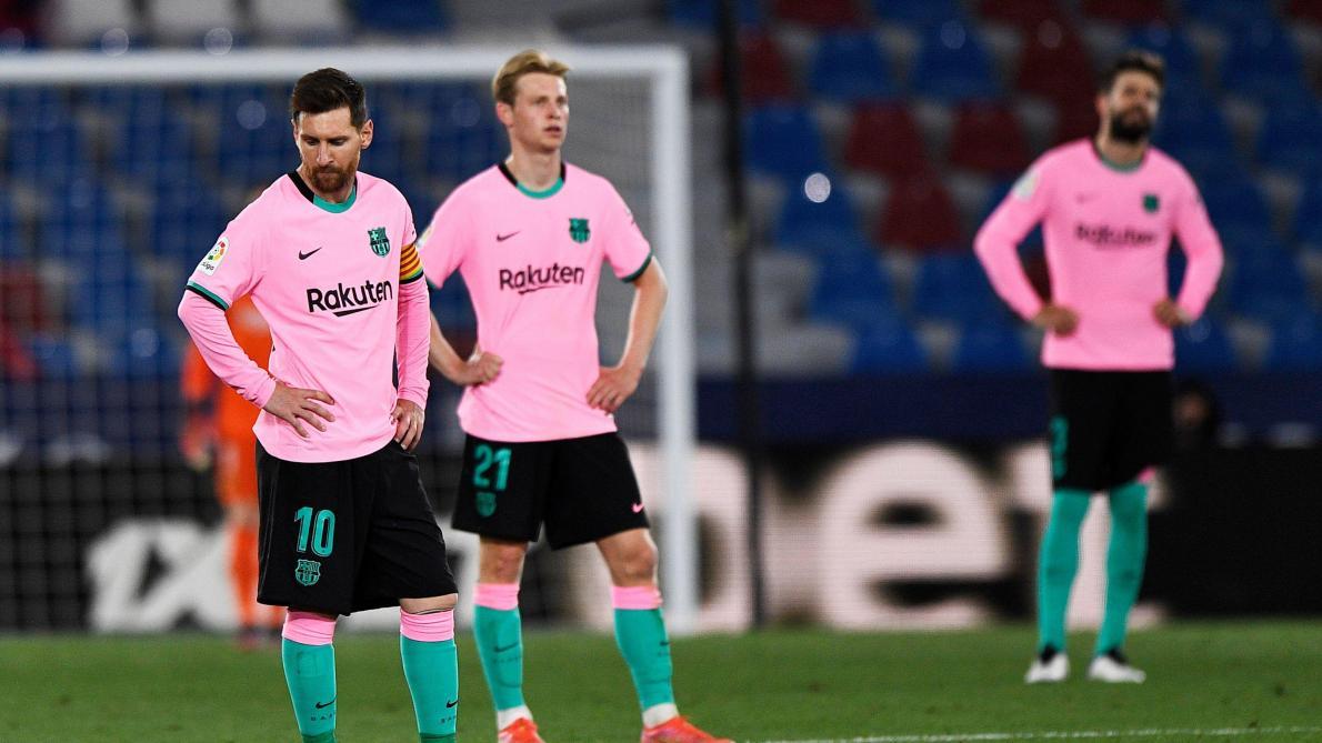 Liga – 36ème j.   Les notes de Levante – FC Barcelone (3-3) 1