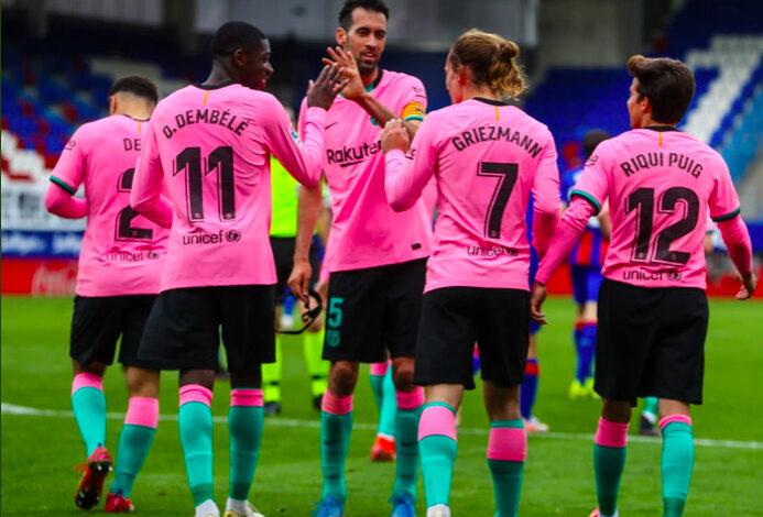 Liga – 38ème j.   Les notes de Eibar – FC Barcelone (0-1) 3