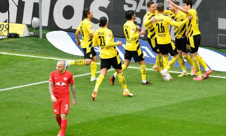Bundesliga - 32ème j.   Les notes de Borussia Dortmund - RB Leipzig (3-2) 1