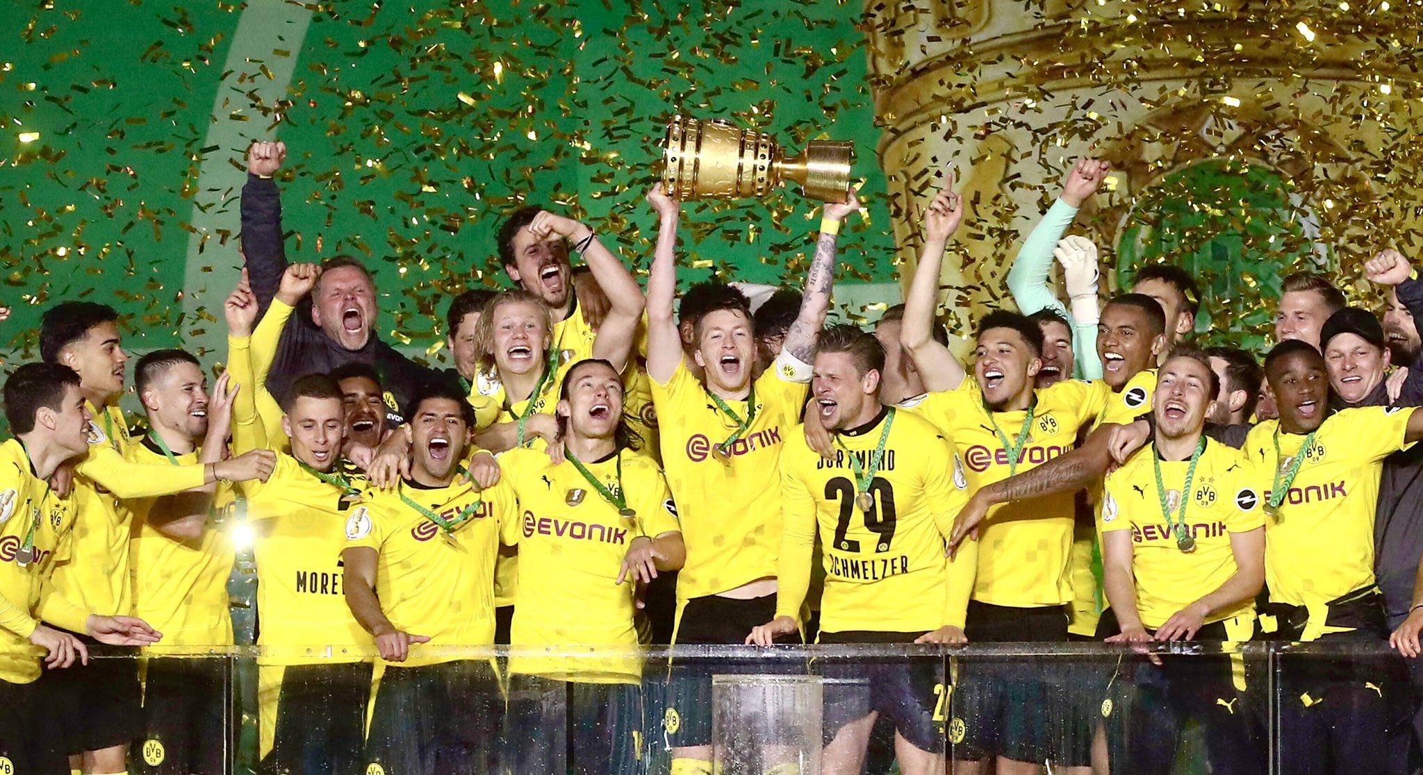 Coupe D'Allemagne – Finale   Les notes de RB Leipzig - Borussia Dortmund (1-4) 1