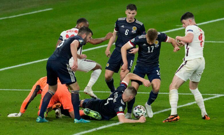 Euro 2020 - 2ème j. | Les notes de Angleterre - Ecosse (0-0) 18